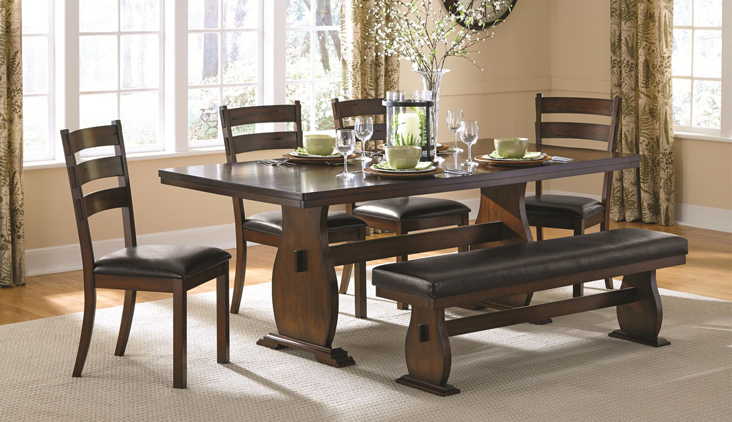 Coaster furniture campbell dining room collection by for Table urbana but