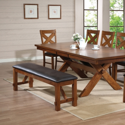 ACME - Casual Dining Room Set - Dark Gray