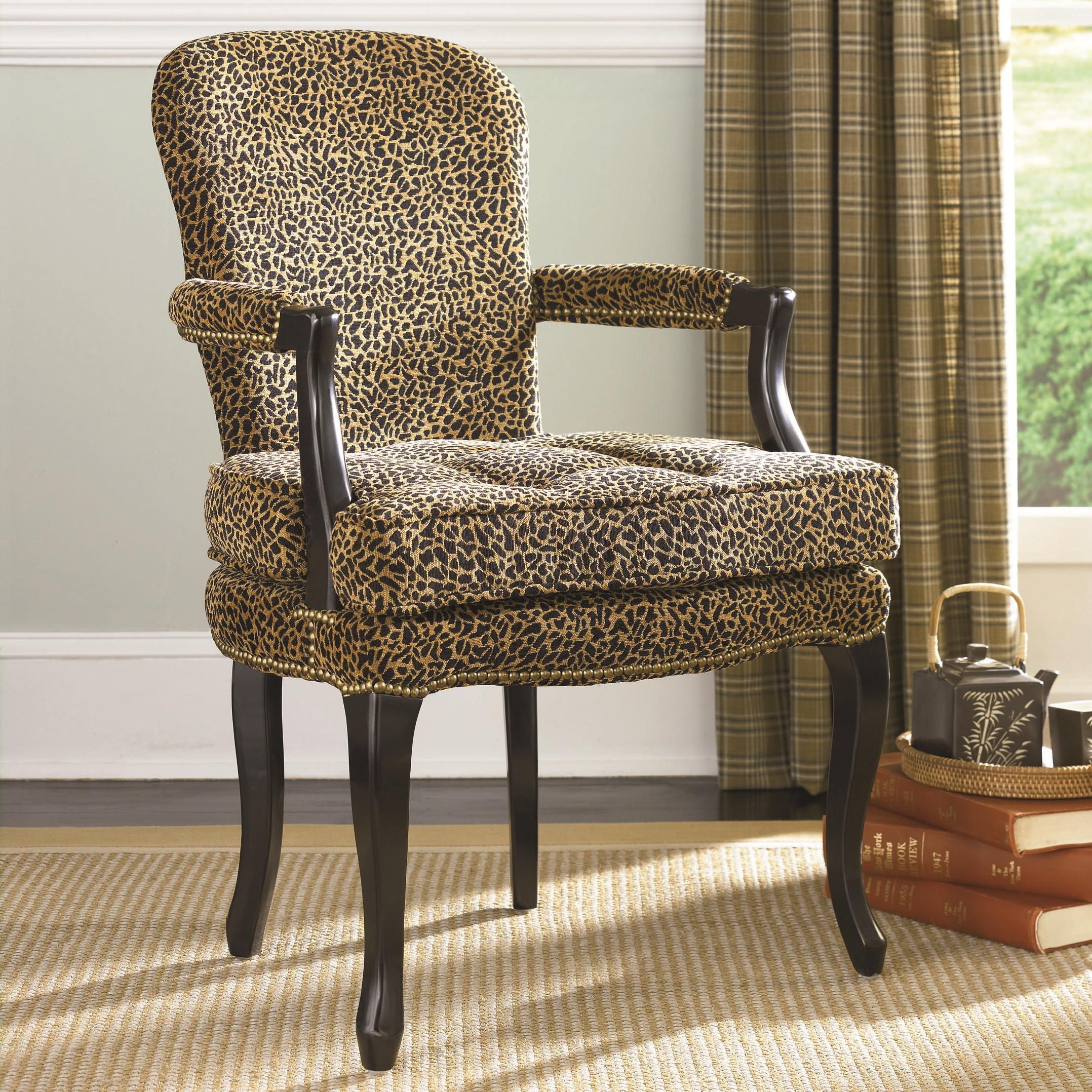 Furniture Living Room Furniture Accent Chair Leopard Print Accent Chair