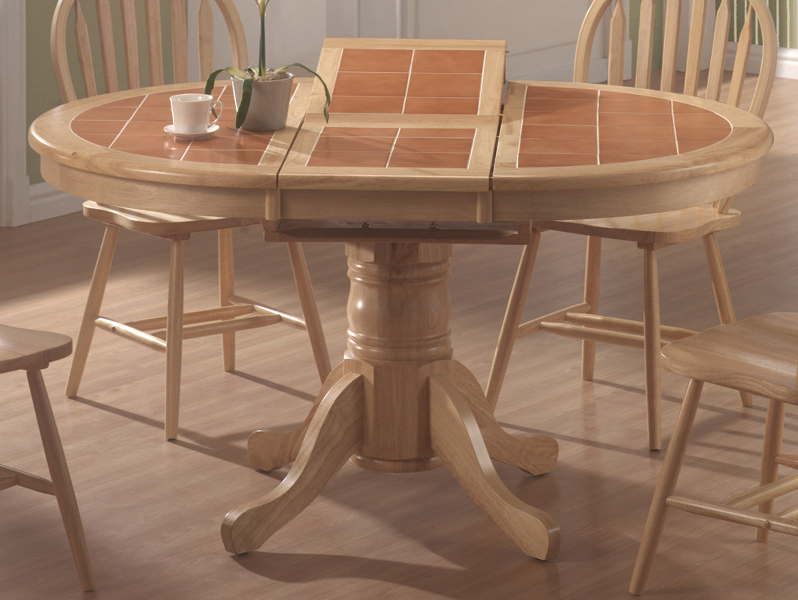 dining room furniture top table butterfly tile top table