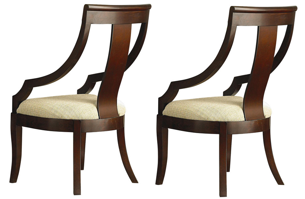 Coaster Cresta Chair In Cherry Set Of 2 800494 By Dining Rooms Outlet
