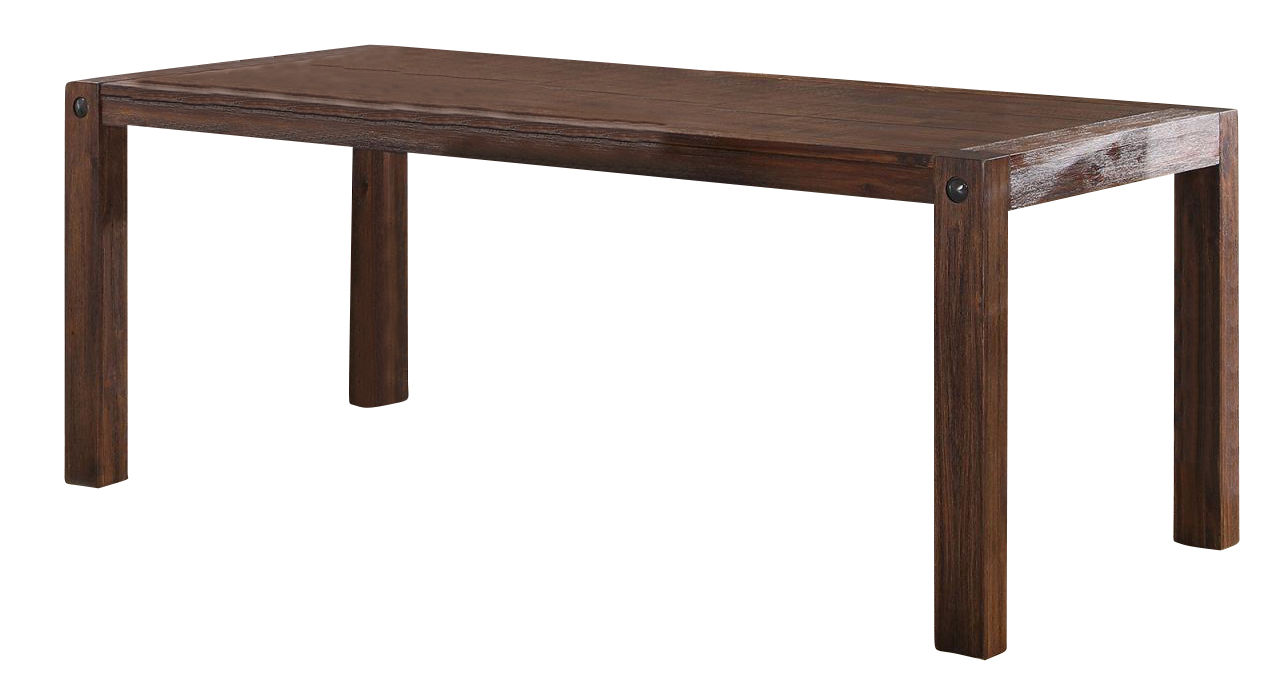New Classic Furniture Fairway Dining Table In Distressed