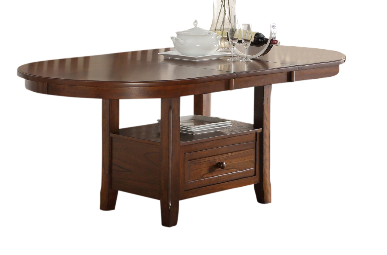 New Classic Furniture Wilson Oval Dining Table In