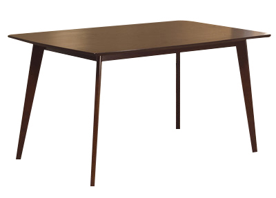 Hillsdale Furniture Allentown Wood Dining Table In Cappuccino 5568 810 By Dining Rooms Outlet