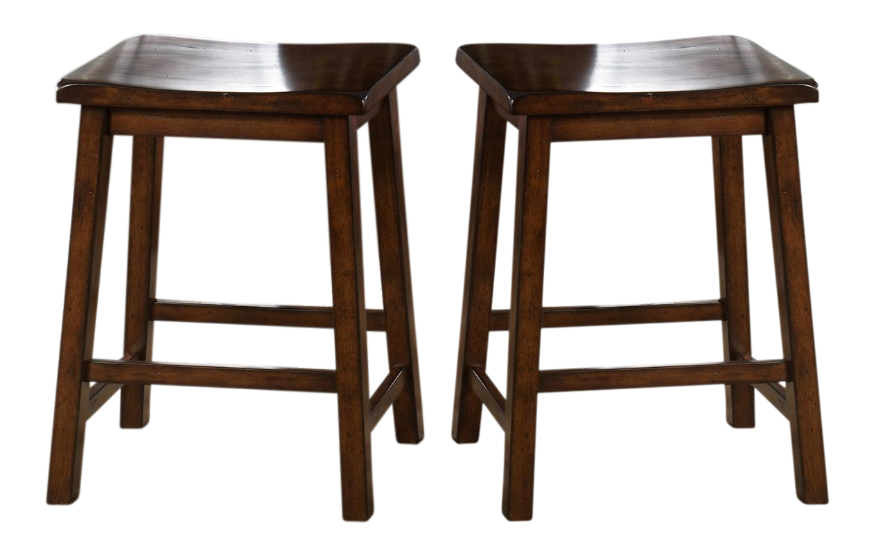 Liberty Furniture Cabin Fever Sawhorse Counter Stool In