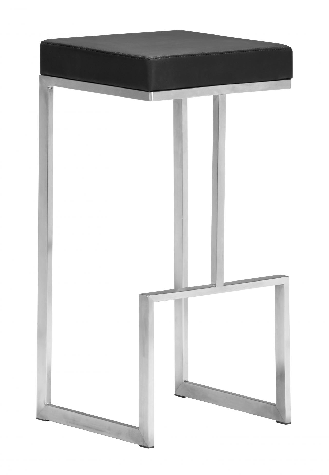 Zuo Modern Darwen Barstool in Black 300045 (Set of 2)