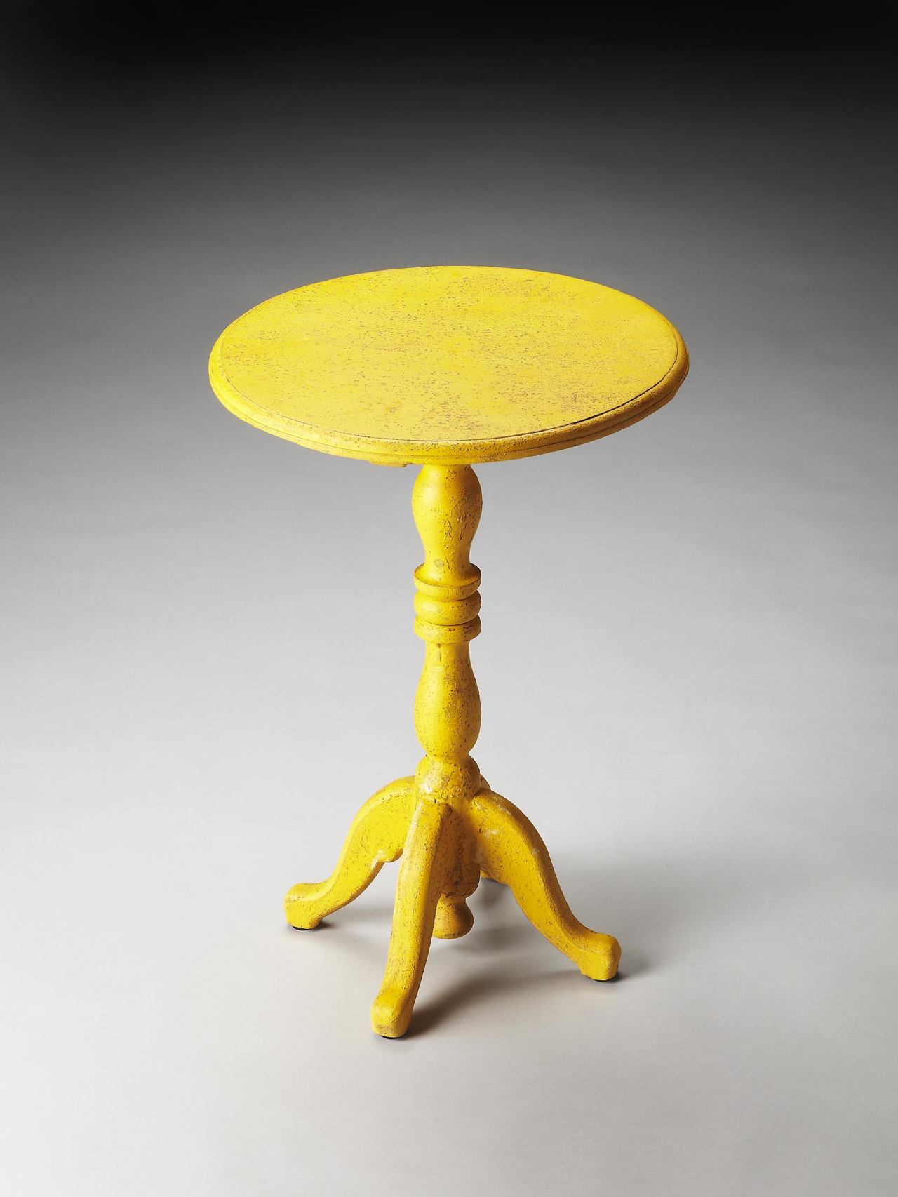 Butler Specialty Yellow Pedestal Table 3322289