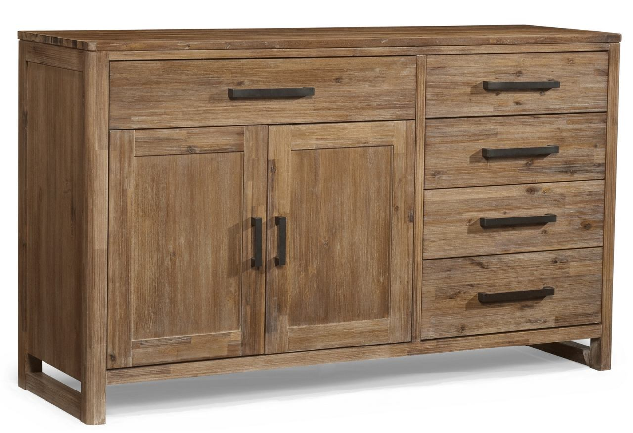 Cresent Fine Furniture Waverly Sideboard in Driftwood 5552