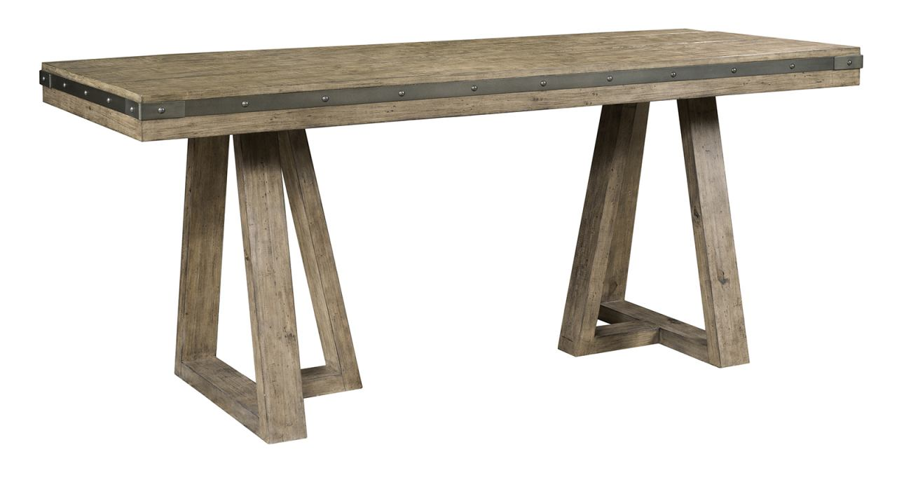 Kincaid Plank Road Kimler Counter Height Table in Stone 706-706SP