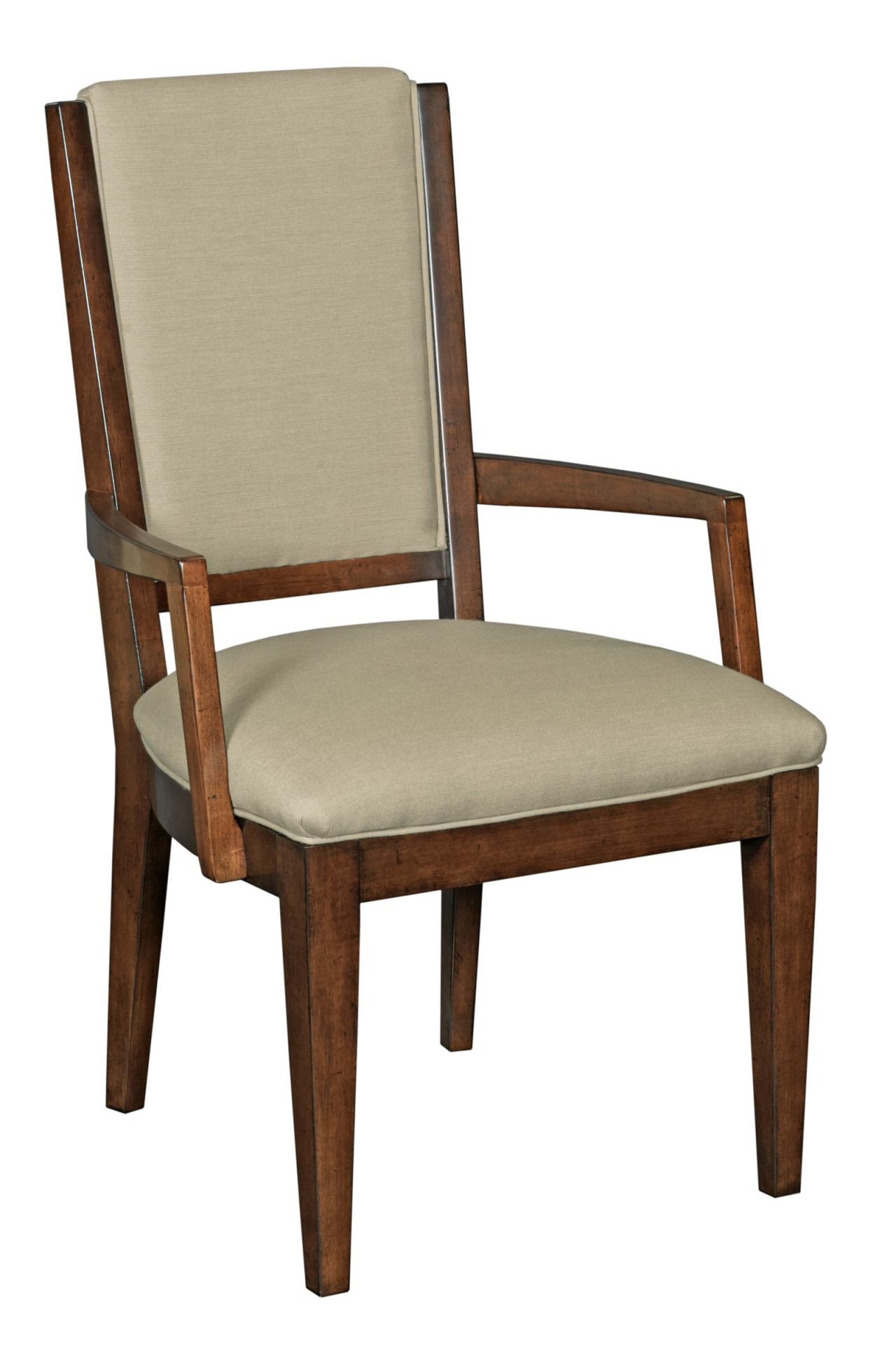 Kincaid Elise Solid Wood Spectrum Arm Chair in Amaretto (Set of 2) 77-062