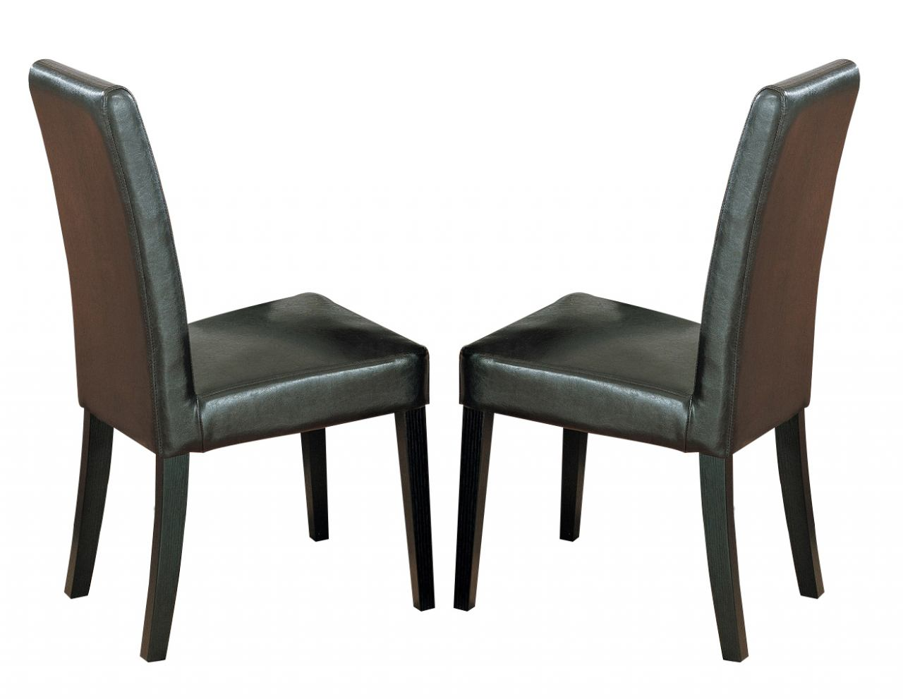 Global Furniture DG020 Dining Chair (Set of 2) in Brown DG020DC-BR
