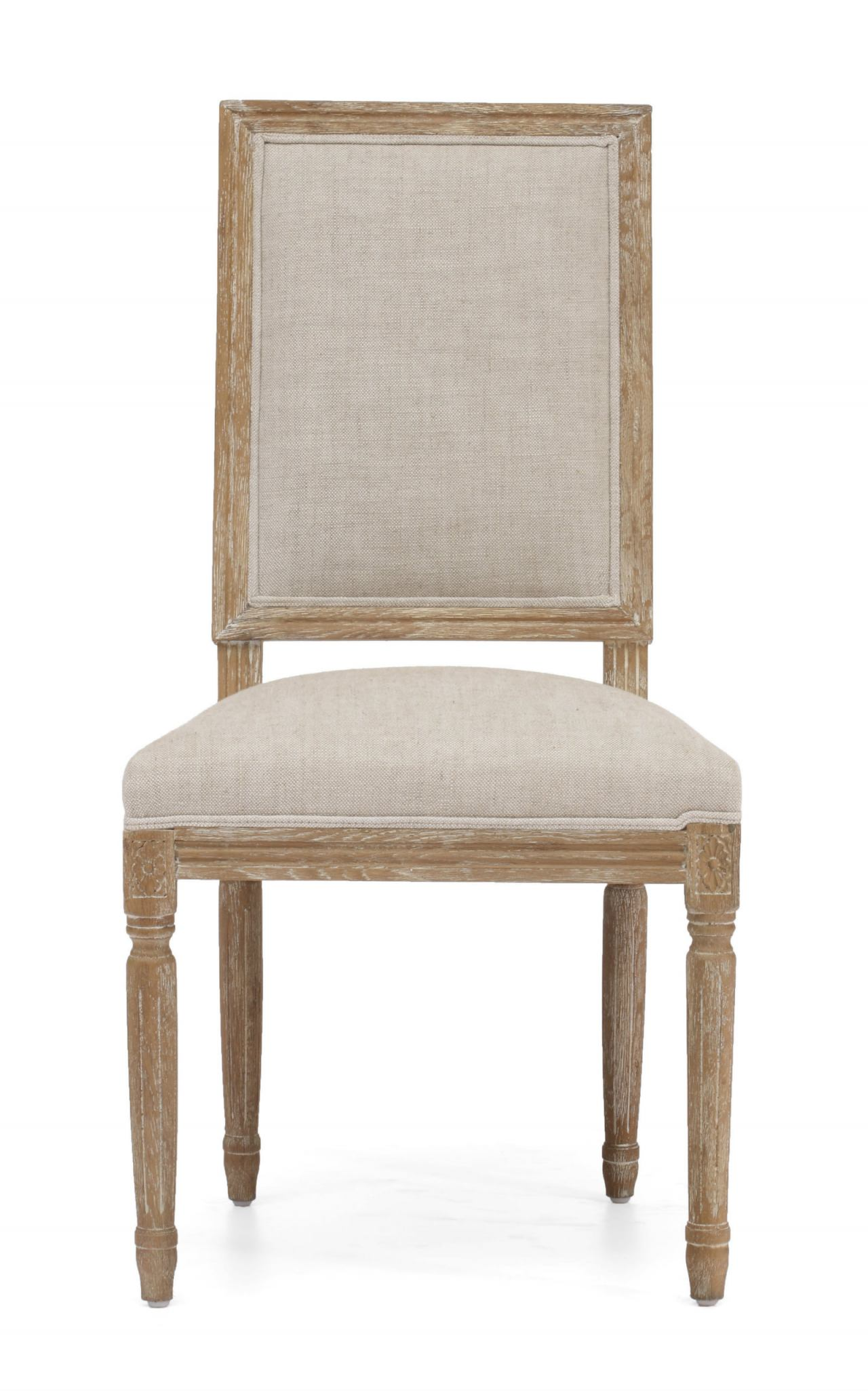 Zuo Modern Cole Valley Chair in Beige (Set of 2) 98074