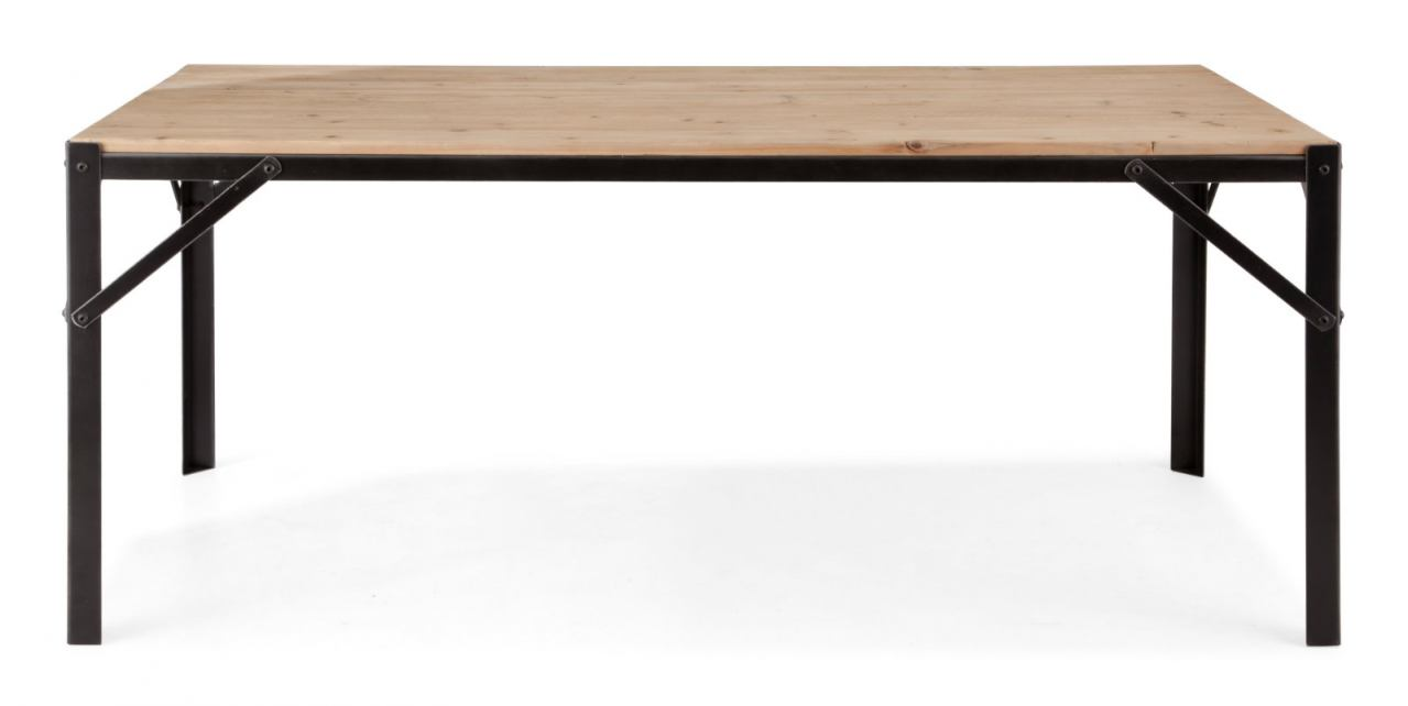 Zuo Modern Sunset Dining Table in Natural Oak 98277
