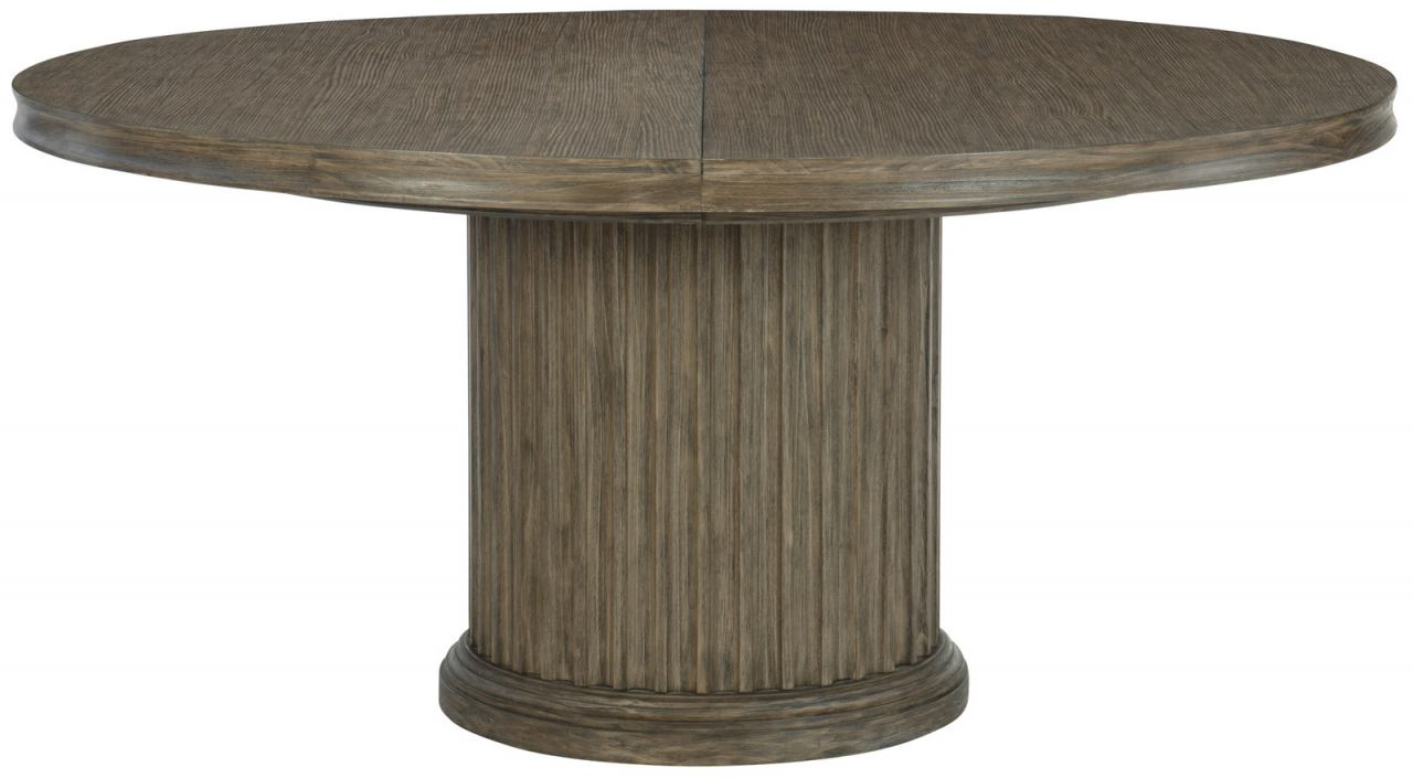 Bernhardt Canyon Ridge  Round Dining Table in Desert Taupe 397-272/273