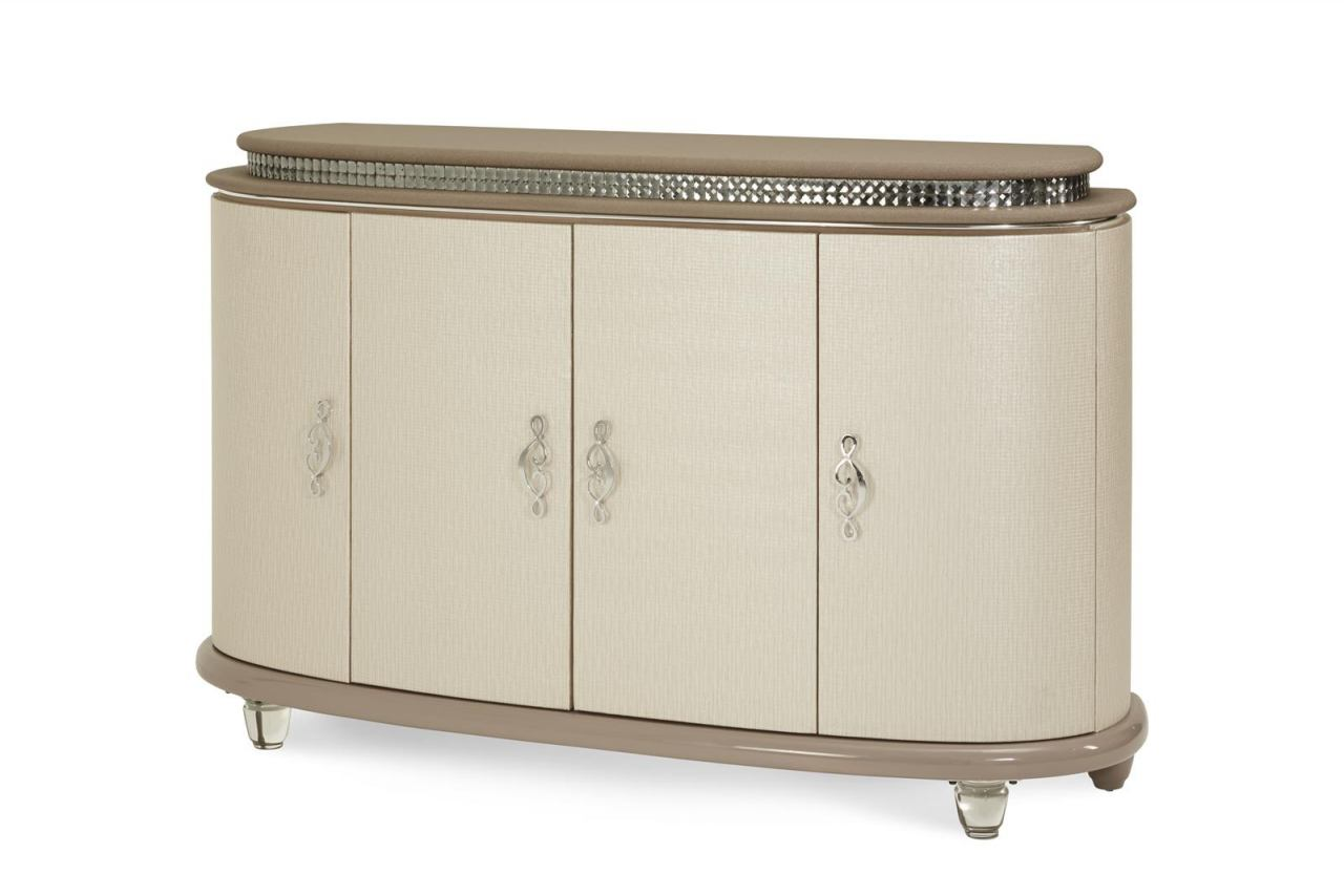 AICO Overture Sideboard in Cristal 08007-13