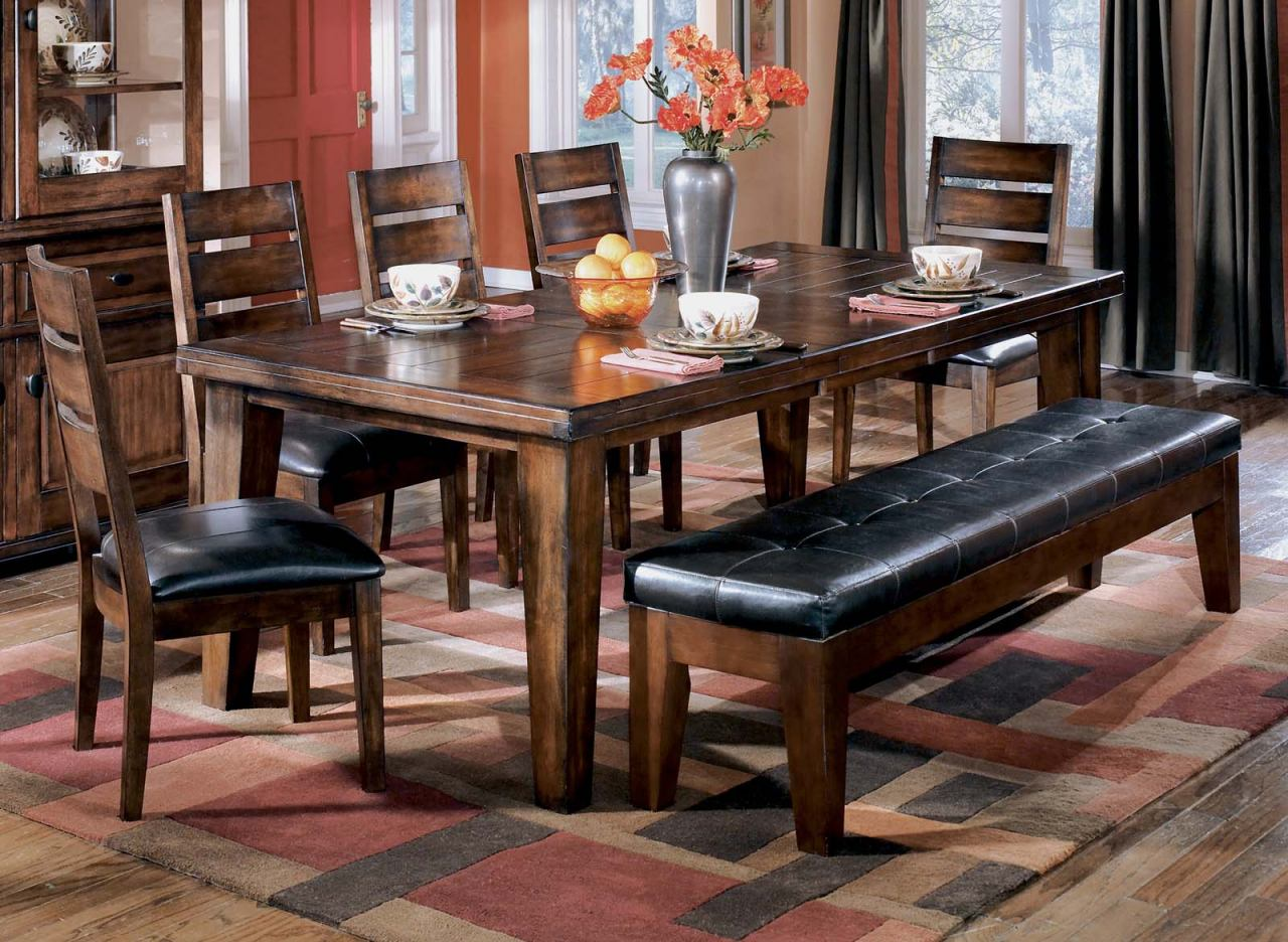 Larchmont 8-Piece Rectangular Extension Table Set