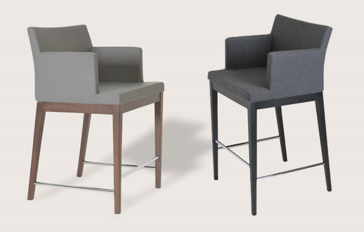 Soho Concept Soho Wood Counter Chair