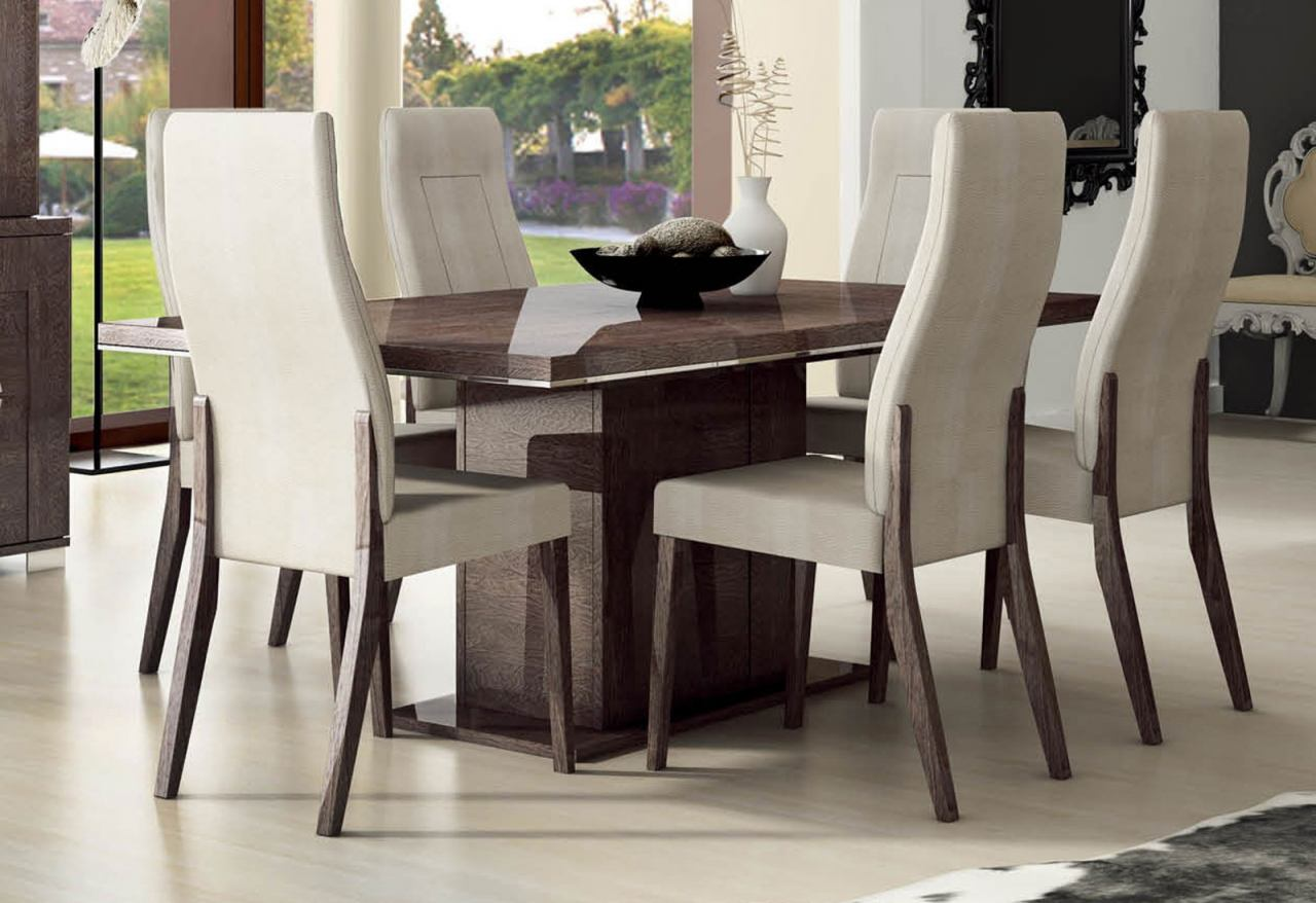 "ESF Furniture Prestige Dining Table w/18"" Extension in Walnut"