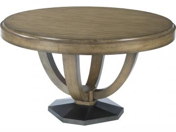 American Drew Evoke Round Dining Table in Barley 509-701R