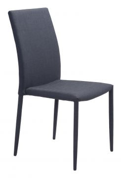 Zuo Modern Confidence Dining Chair in Black 100243 (Set of 4)