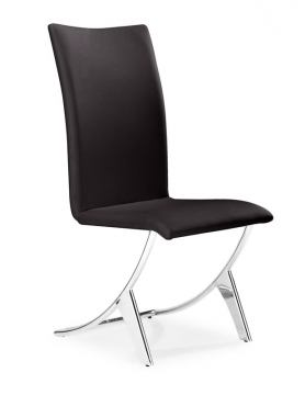 Zuo Modern Delfin Dining Chair Espresso (Set of 2) 102103