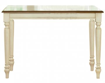 Liberty Furniture Low Country Gathering Table in Linen Sand with Suntan Bronze Finish 79-GT5454