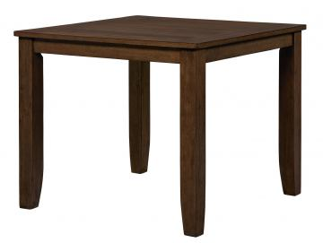 Standard Furniture Vintage Counter Height Table in Brown 11321