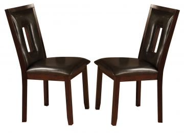Coaster Ervin Dining Chair in Espresso (Set of 2) 102522