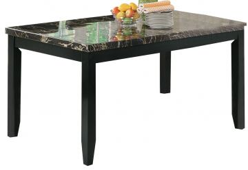 Coaster Anisa Dining Table in Black 102791