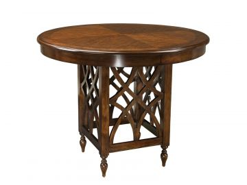 Standard Furniture Woodmont Round Counter Height Table in Cherry 19196