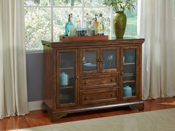 A-America Mariposa Flip Top Server in Rustic Whiskey MRPRW9010 CODE:UNIV20 for 20% Off