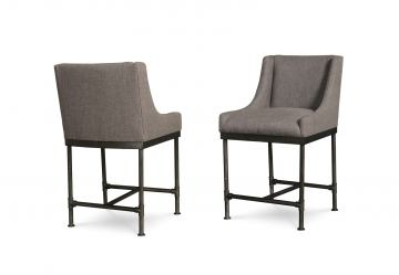 A.R.T Furniture Echo Park High Dining Chair (Set of 2) in Mocha 212209-2016