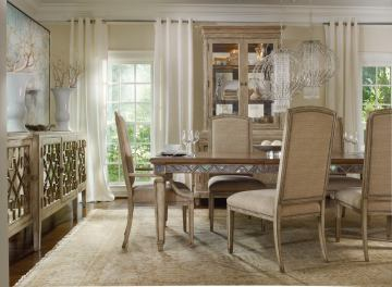 Hooker Furniture Sanctuary Round Dining Set w/Mirage Chairs SALE Ends Jan 24