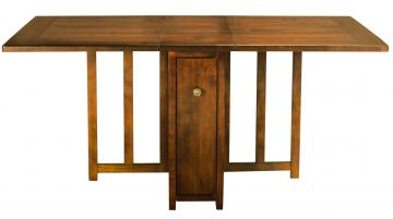 Somerton Runway Gate Leg Dining Table in Warm Chestnut 140G60