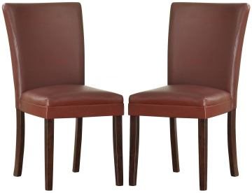 Homelegance Belvedere Side Chair in Lava Red (set of 2) 3276RS