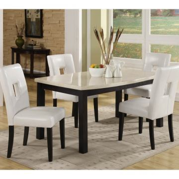 Homelegance Archstone 7pc Dining Table Set in White