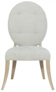 Bernhardt Savoy Place Upholstered Side Chair in Chanterelle (Set of 2) 371-543