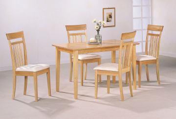 Coaster 5pc Dining Set in Maple 4067