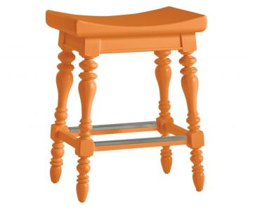 Stanley Coastal Living Retreat 5 O'Clock Somewhere Counter Stool in Spanish Orange (Set of 2) 411-31-74 CLOSEOUT