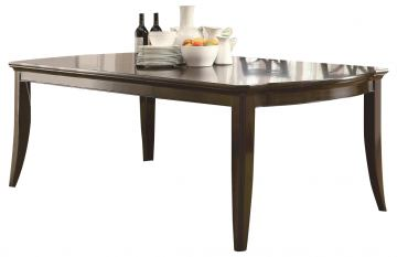 Coaster Meredith Dining Leg Table in Espresso 103531
