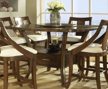 Somerton Gatsby Bar Table in Brown 422-68B