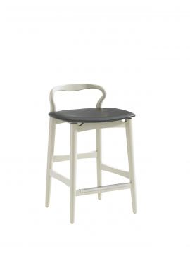 Stanley Crestaire Hooper Counter Stool in Capiz 436-21-72 (Set of 2) CLOSEOUT