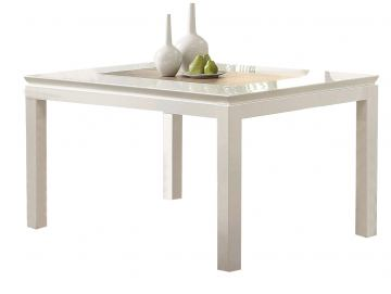 Acme Kilee High Gloss Dining Table in White 70990