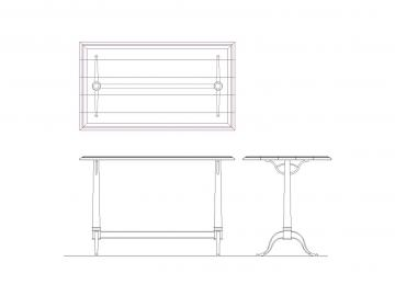 Universal Furniture Curated Bistro Counter Height Table 556754