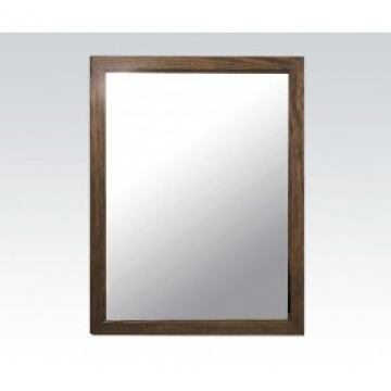 Acme Landon Accent Mirror in Salvage Brown 60739A