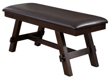 Liberty Furniture Lawson Bench in Light/Dark Expresso 116-C9001B