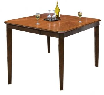 New Classic Latitudes Counter Rounded Dining Table in Chestnut 45-160-10C