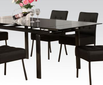 Acme Furniture Parrish Rectangular Dining Table in Black 71010
