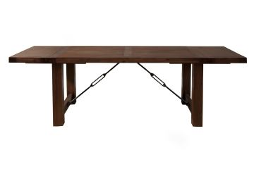 Alpine Furniture Pierre Dining Table in Antique Cappuccino 8104-01