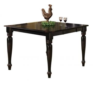 Intercon Furniture Roanoke Gathering Table in Black